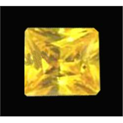 8.31ct Yellow Square Cut Lab Diamond (GEM-22009B)