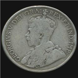 1918 Canada Half Dollar Hi Grade (COI-7016)