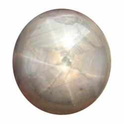 25ct Gray Biue Star Sapphire Natural 6 Ray (GEM-19766)