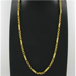 "22k Gold Vermeil Necklace 25"" (JEW-1381)"