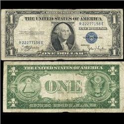 1935C $1 Silver Certificate Nice Condition SCARCE (COI-4683)