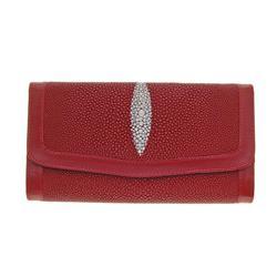Ladies Stingray Hide Clutch Purse/Wallet (ACT-079)