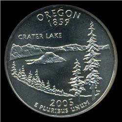 2005P Oregon SMS Quarter NGC MS68 (COI-5472)