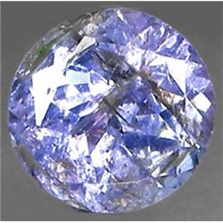 2mm Top AAA VVS Round Cut Blue Tanzanite (GMR-0303)