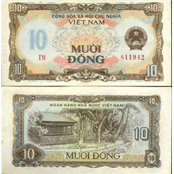 1980 Vietnam 10 Dong Crisp Unc Note (COI-4017)