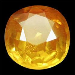 1.32ct Oval Golden Yellow Sapphire (GEM-24645)