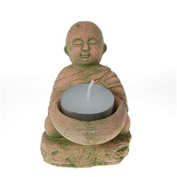 Hand Formed Sandstone Monk (CLB-165)