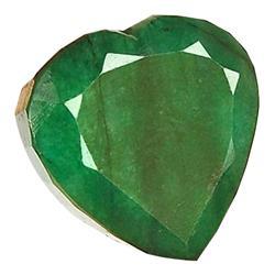 9.86ct. Excellent Heart Cut S. American Emerald (GEM-24073)