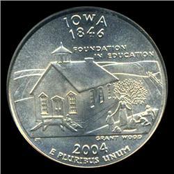 2004D Iowa Quarter PCGS MS68 (COI-5458)