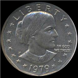 1979 Anthony Dollar Coin Graded GEM (COI-6927)