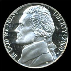 2000S Jefferson Nickel PROOF Graded PR70 DCAM (COI-4445)
