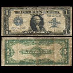 1923 $1 Large Silver Certificate Circulated Scarce (CUR-06003)