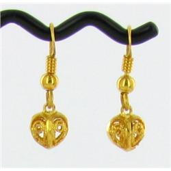 22k Gold Vermeil Earrings (JEW-1603)