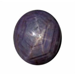 10.52ct RARE LARGE Untreated Natural African Star Ruby (GEM-21865)