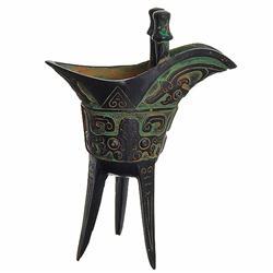 Vintage Tibet Bronze Chalice (ANT-836)