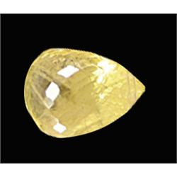 .5ct Top Golden Yellow Sapphire Briolette  (GMR-0614)