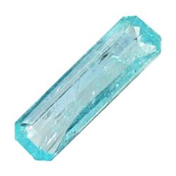 0.61ct Blue Green Rare Neon Natural Apatite  (GEM-25471)
