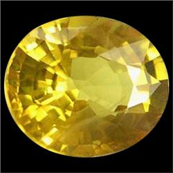 0.96ct Natural Siam Yellow Sapphire (GEM-24698)