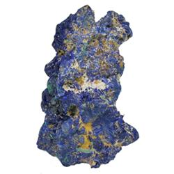 245ct RARE Azurite Crystal Cluster ALL AZURITE No Base Mineral (GEM-20409)