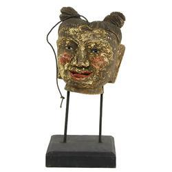 Antique Burma Puppet Head (ANT-510)