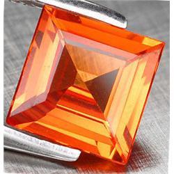 1mm Princess Cut Top AAA Orange Sapphire Nigeria  (GMR-0775A)