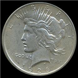 1926D Peace Dollar Choice Unc (COI-5605)