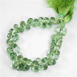212.16ct 63 Briolette Mint Green Amethyst Bracelet (JEW-2033)