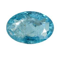 0.81ct Blue Green Rare Neon Natural Apatite  (GEM-25465)
