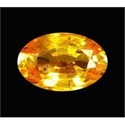 .35ct Natural Yellow Orange Songea Sapphire (GMR-1004)