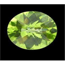 1.6ct Natural Green Peridot VVS Appraisal Estimate $960 (GEM-19094A)