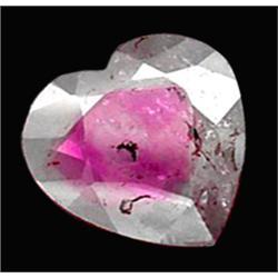 2.76ct Lovely Natural Bi-Color Tourmaline Heart     (GEM-22769)