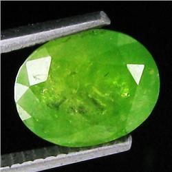 3.4ct Top Green Demantoid Garnet Appraised $15k (GEM-18756)