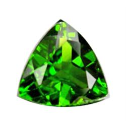.25ct Trillion Green Chrome Diopside (GMR-0528)