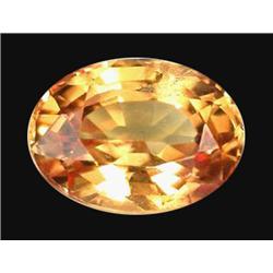 1.21ct Orange Oval Sapphire Songea (GEM-19897)