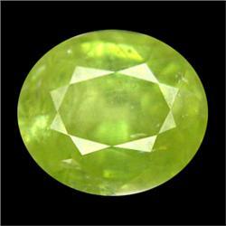 1.30ct Genuine Natural Pakistan Oval Green Sphene (GEM-25095)