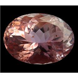 19.08ct Dazzling Top Luster Lush Imperial Pink Kunzite Appraisal Estimate $9540 (GEM-24619)