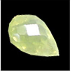 .6ct Lovely Rare Yellow Chrysoberyl Briolette (GMR-0948)