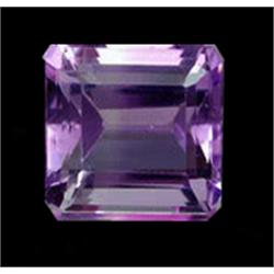 4ct Octagon Natural Amethyst  (GMR-0994)