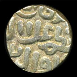 1400s India Medeival Delhi Silver Coin Hi Grade (COI-5786)