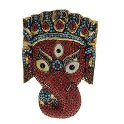Vintage Tibet Elephant Ritual Mask (ANT-501)