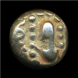 Ancient India Tanjore Nayak Copper Coin Hi Grade Type 2 (COI-5788)