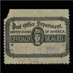 1932 USPS Officially Sealed Stamp SCARCE (STM-0540)