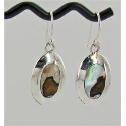 Sterling Mother of Pearl Earrings (JEW-1402)
