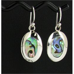 Sterling Mother of Pearl Earrings (JEW-1398)
