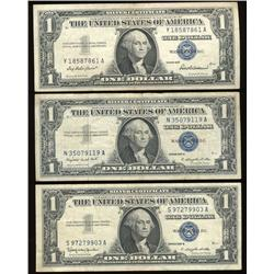 1957 US $1 Silver Certificate Set (COI-1234)