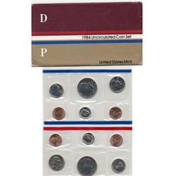 1984 US Coin Original Mint Set GEM Potential (COI-2384)