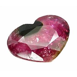 5.16ct Vivid Watermelon Natural Tourmaline Heart Lovely   (GEM-22768)