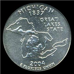 2004D Michigan Quarter PCGS MS68 (COI-5457)