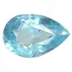 1.25ct Natural Pear Paraiba Blue Apatite (GEM-24934)