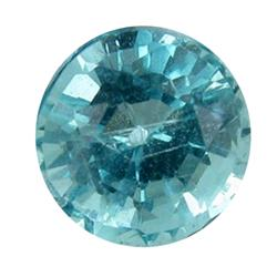 0.74ct Blue Green Rare Neon Natural Apatite  (GEM-25473)
